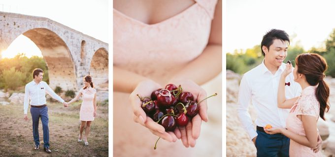 French engagement shoot in Provençal lavender fields by M&J Photography - 006