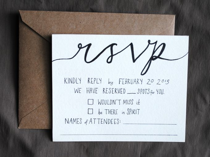 Rustic Blackberry Wedding Invitations by Blue Laurel Paper Company - 003
