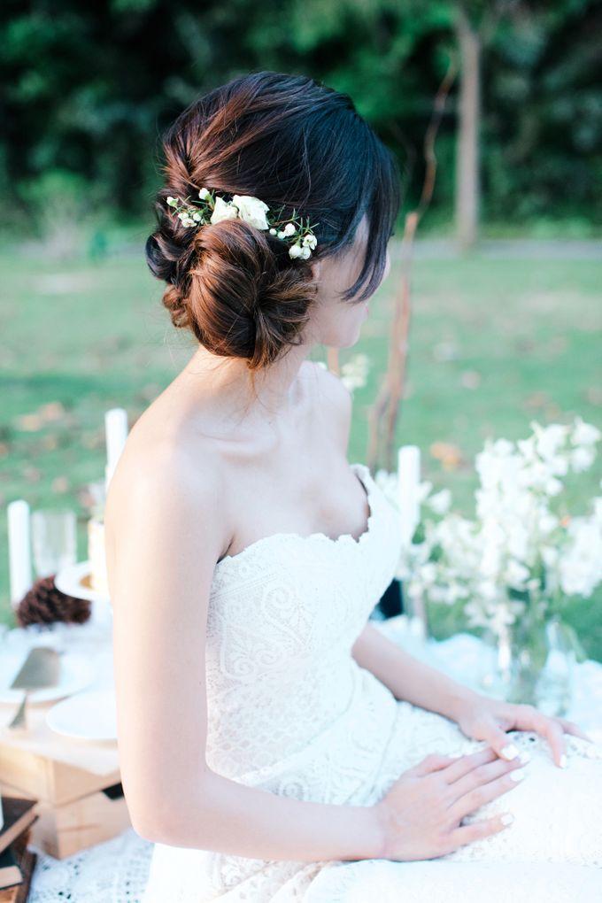 Botanical Sunset Wedding by The Prelude Bridal - 006