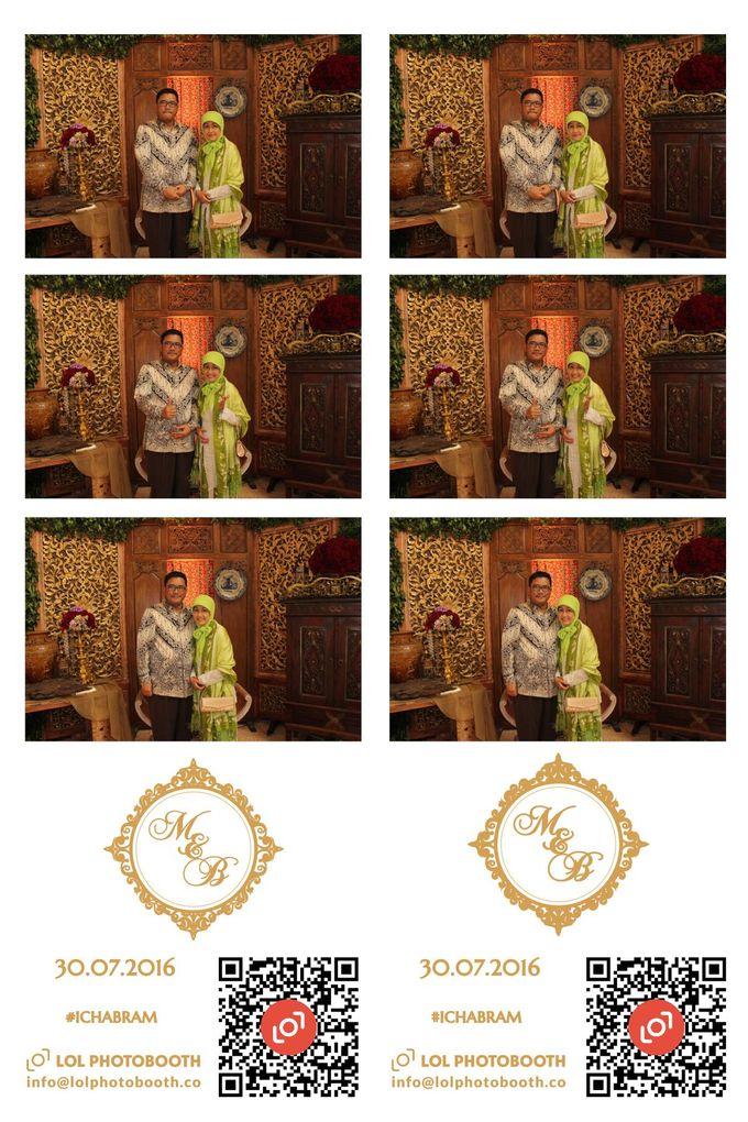 Wedding of Marisa & Bramastyo by lolphotobooth.co - 008