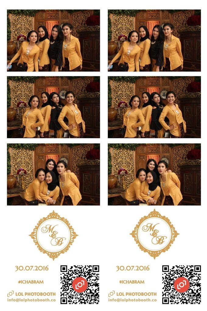 Wedding of Marisa & Bramastyo by lolphotobooth.co - 013