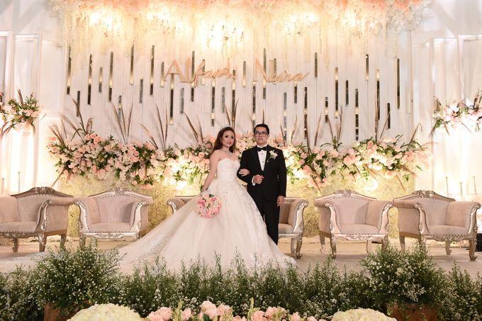 Wedding Of Alfandi & Novia by JWP Wedding - 011