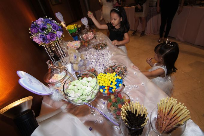 The Purple Dream Wedding by Candy Buffet Singapore - 003