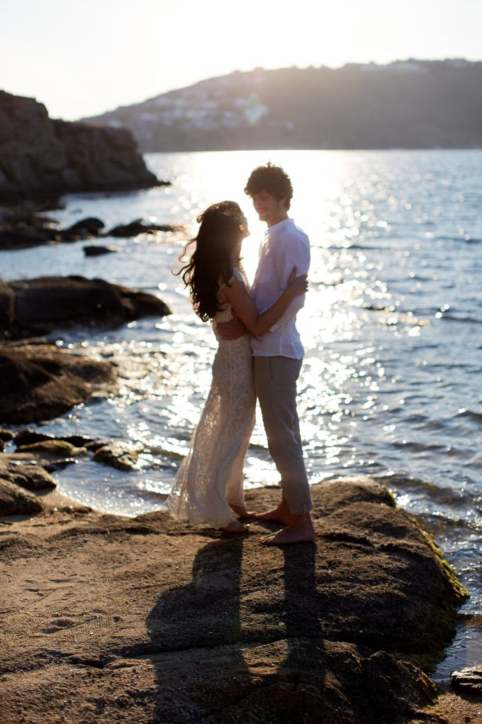 Engagement in Mykonos by Sotiris Tsakanikas Photography - 010