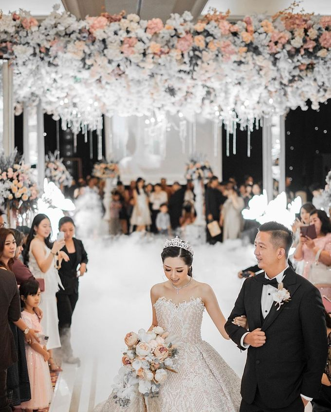 Wedding of Fendi & Olivia - 15.12.19 by The Ritz-Carlton Jakarta, Mega Kuningan - 009