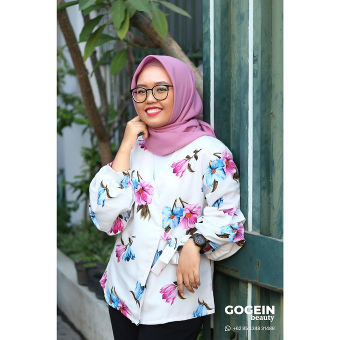 Party Hijab Make-Up by Gogein Beauty - 009
