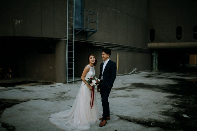 Wedding in ombre blush colors by Kelly's Bridals - 004