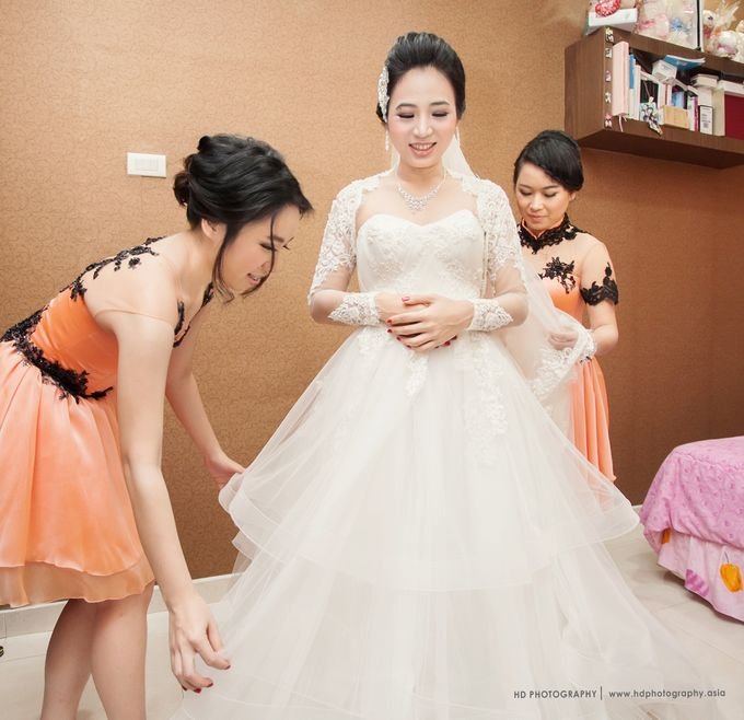 Wong & Devy - Wedding Day by HD Photography - 003