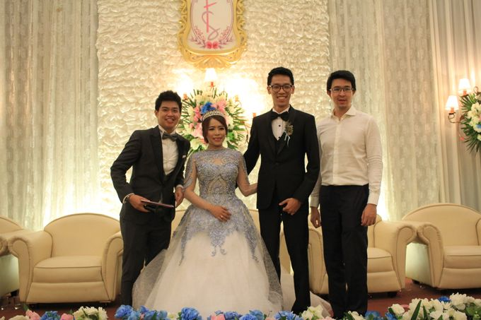 MC Wedding Prisma Ballroom Jakarta - Anthony Stevven by Tracy Bridal House - 008