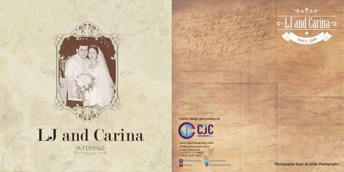 Wedding Album Lay-out by CJC PHOTOGRAPHY ASIA CORPORATION - 006