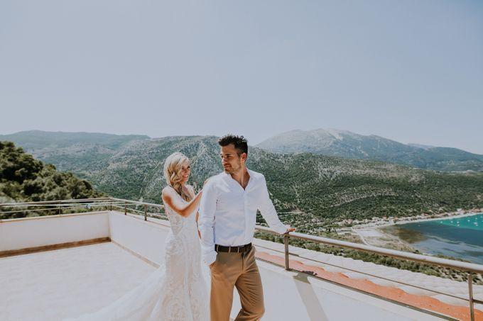 Glamorous destination beach wedding in Lefkada by Your Lefkada Wedding - 007