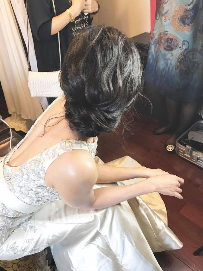 Jasin Make up And Hairdo for wedding by MEB Entertainments - 004