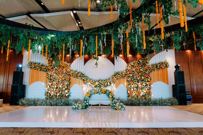 Beautifully Indian Wedding by Konsep Sejiwa - 001