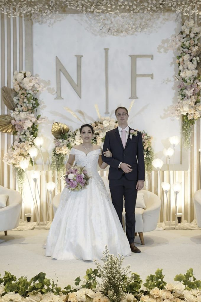 The Wedding of Nina & Franck at Ayana Midplaza by La Oficio Entertainment - 001