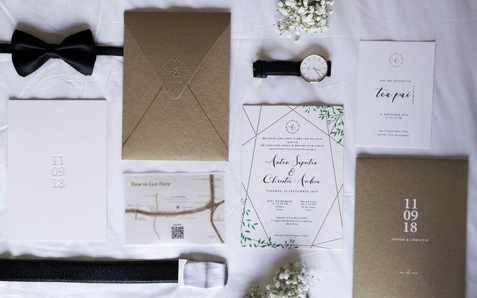 The Wedding of Anton & Christie by Memoira Studio - 001