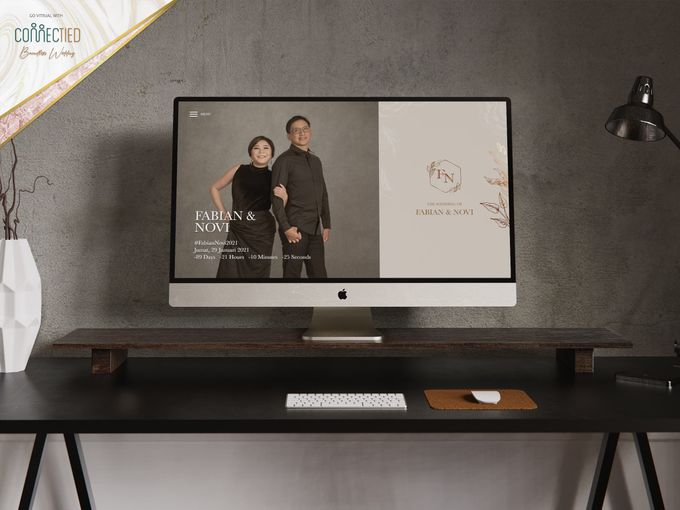 Fabian & Novi - Digital Invitation / Undangan Digital Connectied v2.0 + Live Streaming by Connectied Virtual Wedding - 001
