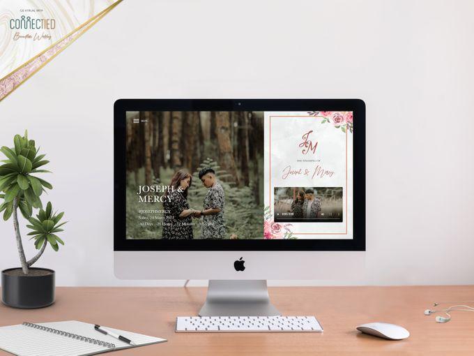 Joseph & Mercy - Digital Invitation / Undangan Digital Connectied v2.0 + Live Streaming by Connectied Virtual Wedding - 001