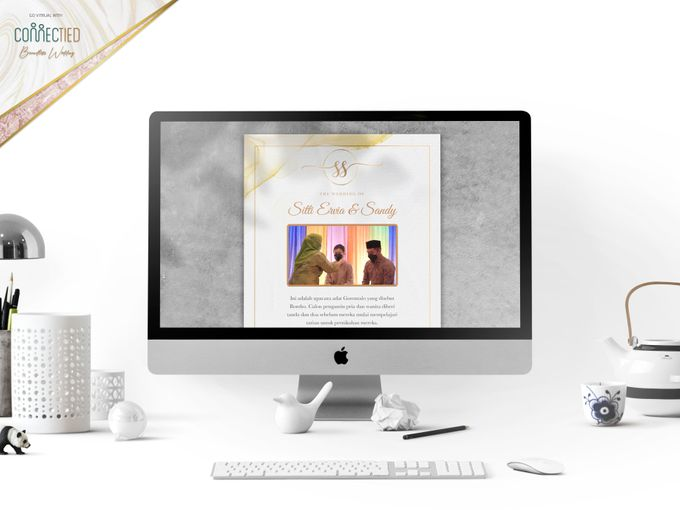 Sitti Ervia & Sandy - Digital Invitation / Undangan Digital Connectied v2.0 + Live Streaming by Connectied Virtual Wedding - 001