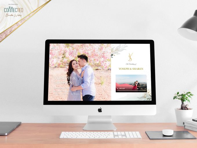 Yoseph & Sharen - Digital Invitation / Undangan Digital Connectied v2.0 + Live Streaming by Connectied Virtual Wedding - 001