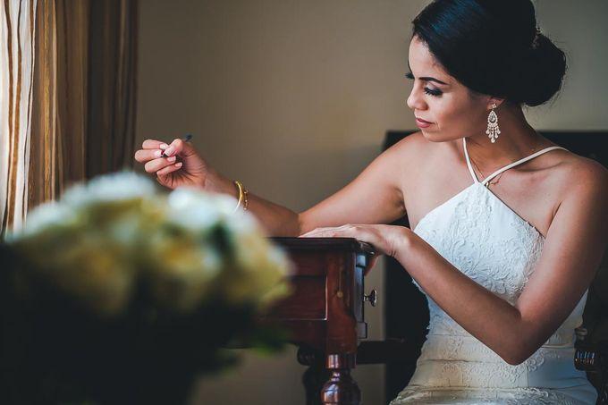 Wedding at Garden with cityview by Producciones Almendares - 002