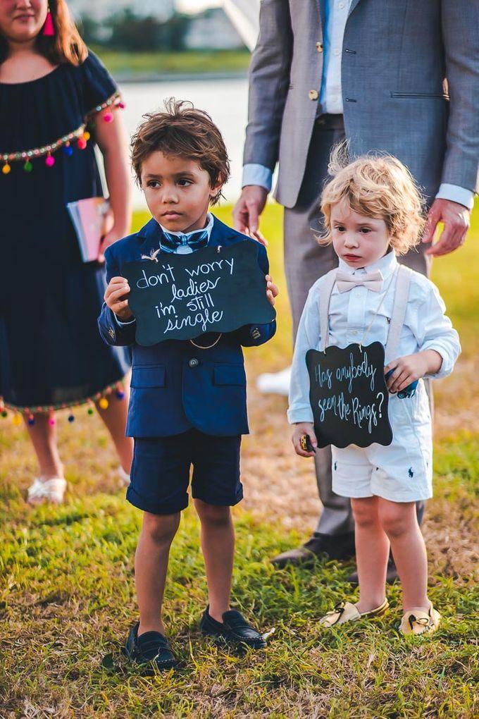 Wedding at Garden with cityview by Producciones Almendares - 005