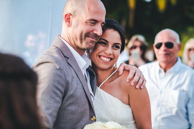 Wedding at Garden with cityview by Producciones Almendares - 011