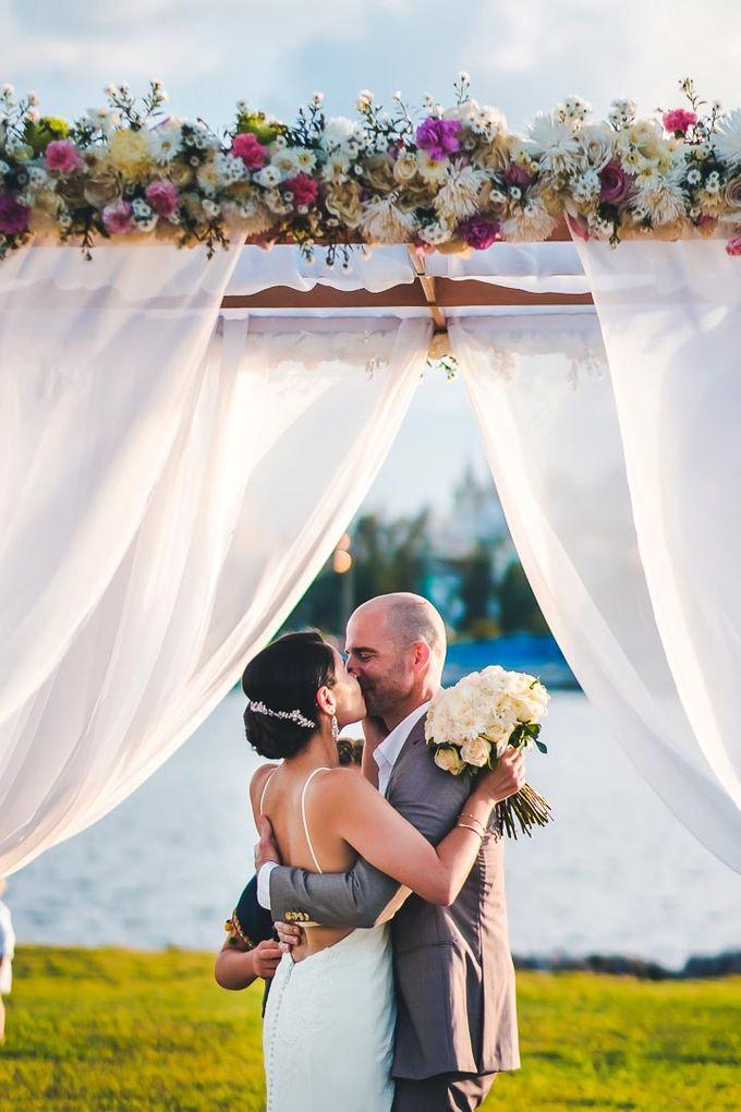 Wedding at Garden with cityview by Producciones Almendares - 009