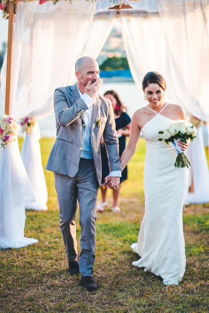 Wedding at Garden with cityview by Producciones Almendares - 010