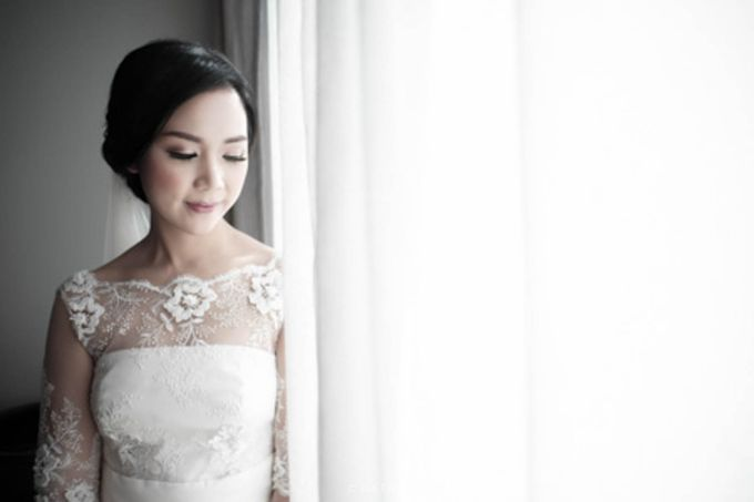 Wedding Day of Alisa & Kevin by Costes Portrait - 006