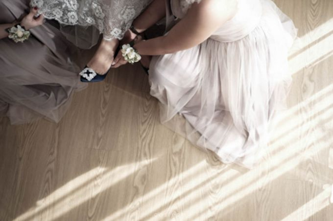 Wedding Day of Alisa & Kevin by Costes Portrait - 011