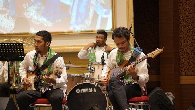 Big Band for The Wedding of Nadia & Atria at Sasana Kriya TMII by La Oficio Entertainment - 007