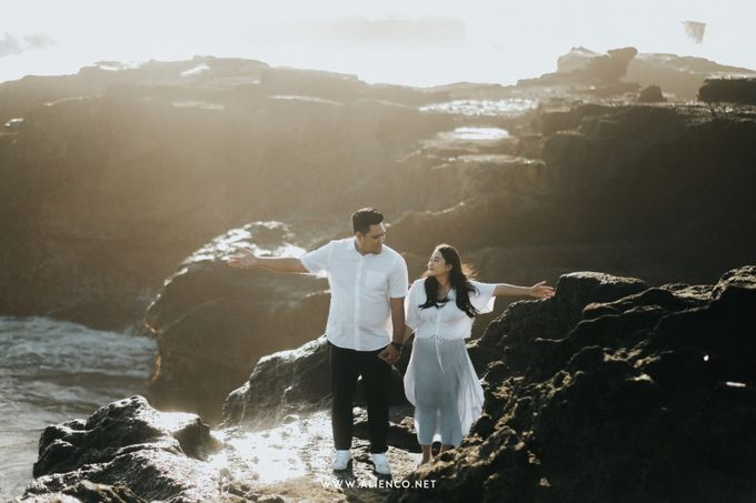 The Prewedding Of Andrew & Dinar by alienco photography - 001