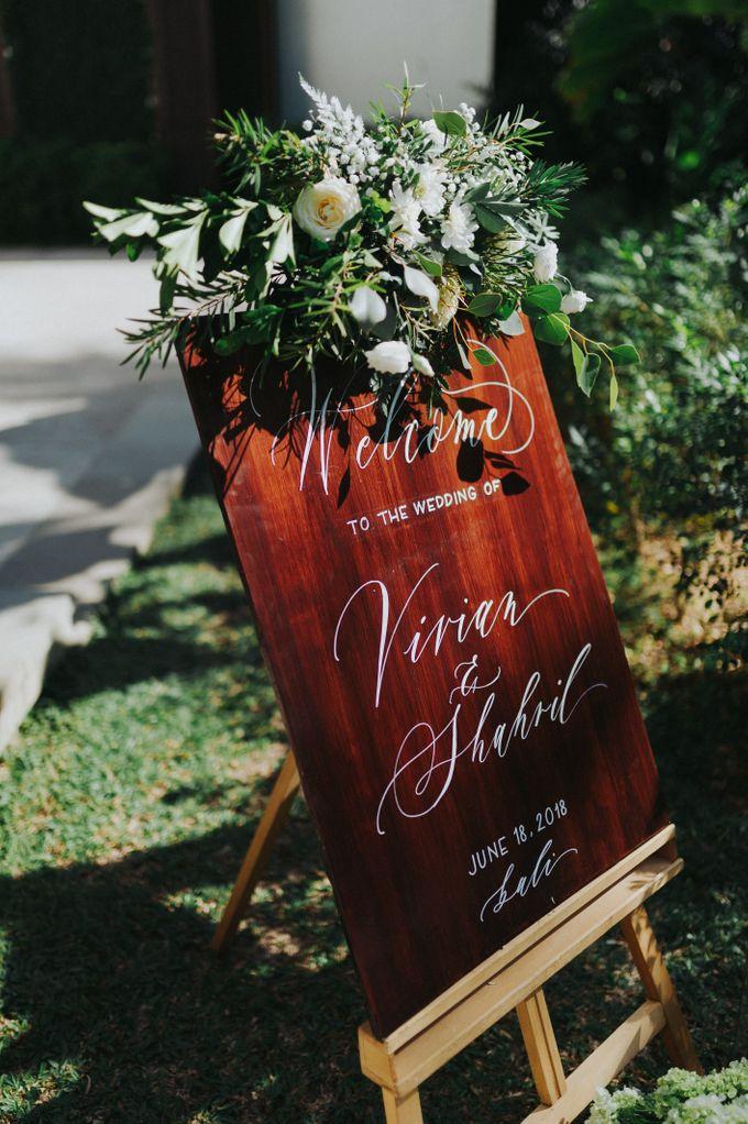 The Wedding of Shahril & Vivian by BDD Weddings Indonesia - 001