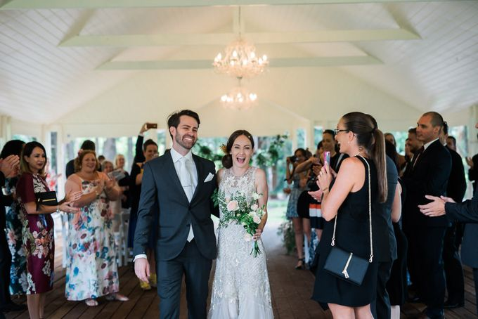 A country woodlands inspired wedding at Gabbinbar Homestead in Toowoomba by Deb Boots wedding photography - 005
