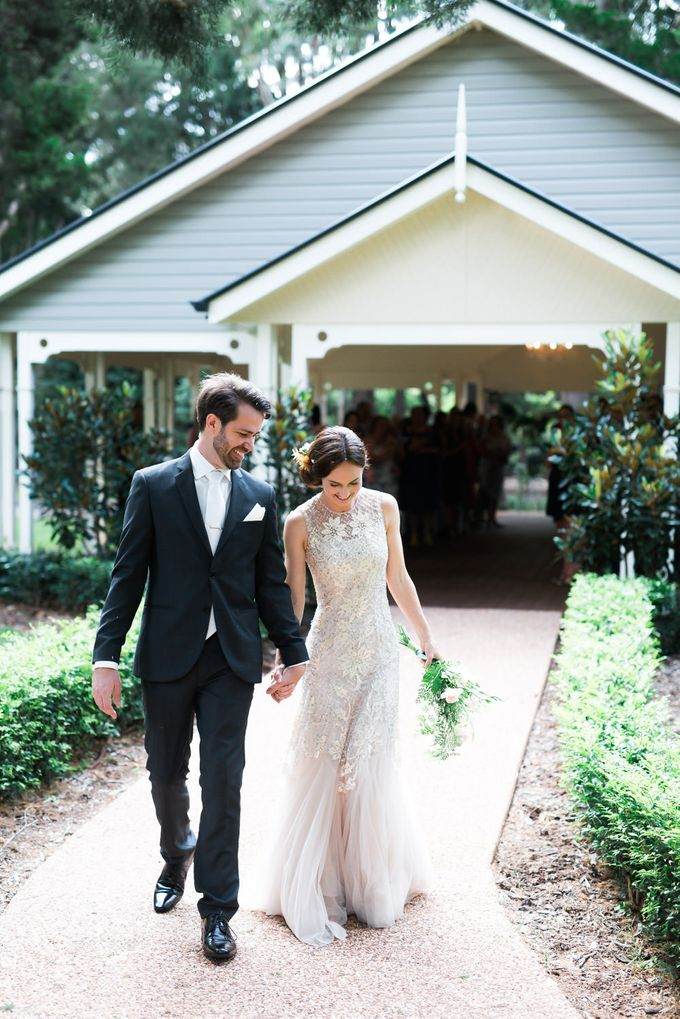 A country woodlands inspired wedding at Gabbinbar Homestead in Toowoomba by Deb Boots wedding photography - 006