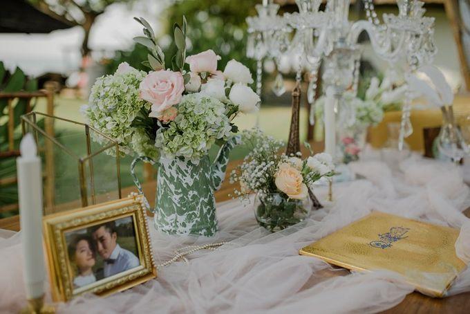 Rustic Decoration by Bali Izatta Wedding Planner & Wedding Florist Decorator - 004