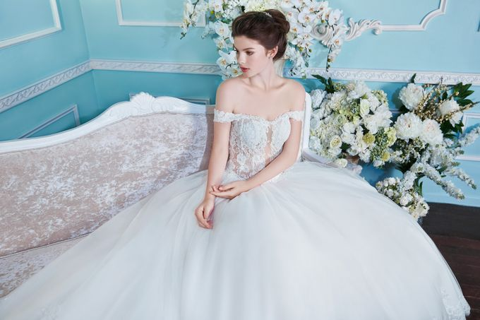 Orchid Wedding Gown Collection by Digio Bridal - 010