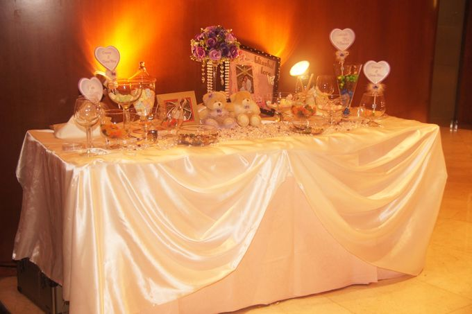 The Purple Dream Wedding by Candy Buffet Singapore - 006