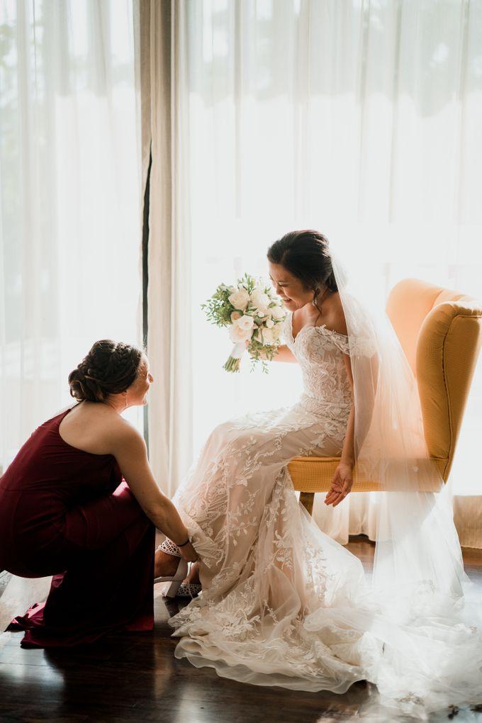 Wedding Ceremony Beach Front by Bali Izatta Wedding Planner & Wedding Florist Decorator - 003