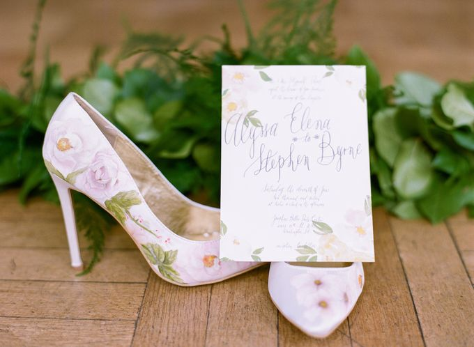 Spring Has Sprung - Wedding Invitation Style Shoot by Meilifluous Calligraphy & Design - 006