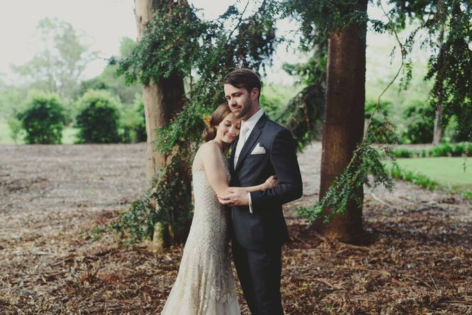 A country woodlands inspired wedding at Gabbinbar Homestead in Toowoomba by Deb Boots wedding photography - 010