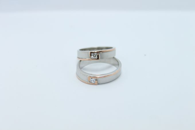 wedding ring simple Design by V&Co Jewellery - 015