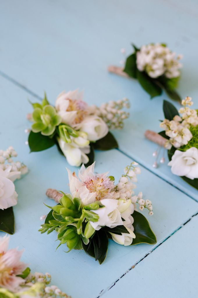 Bridal Party by Affair with George  Florals & Event Styling - 036
