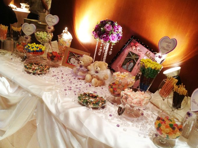 The Purple Dream Wedding by Candy Buffet Singapore - 007