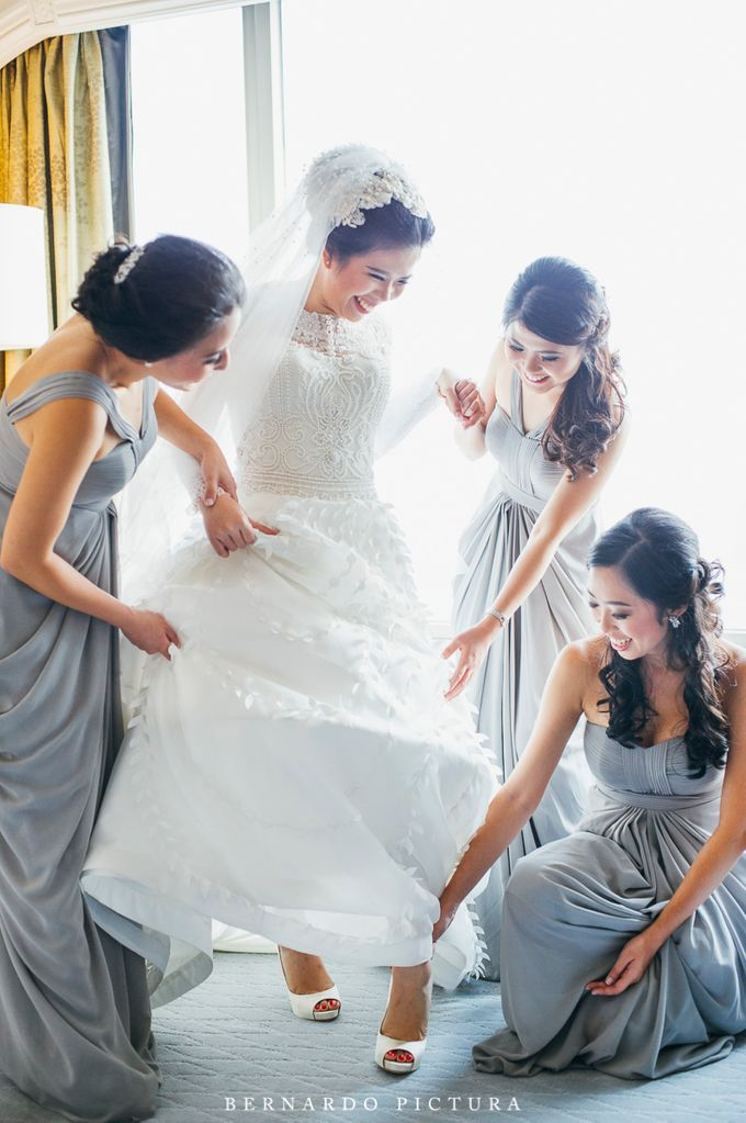 The Wedding of David & Any by eline - 002