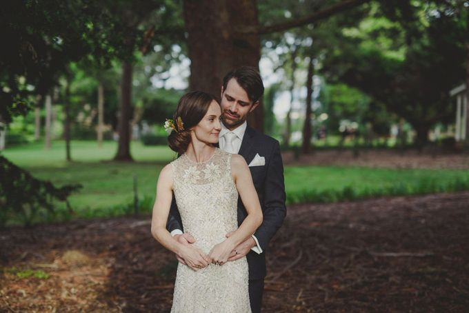 A country woodlands inspired wedding at Gabbinbar Homestead in Toowoomba by Deb Boots wedding photography - 014