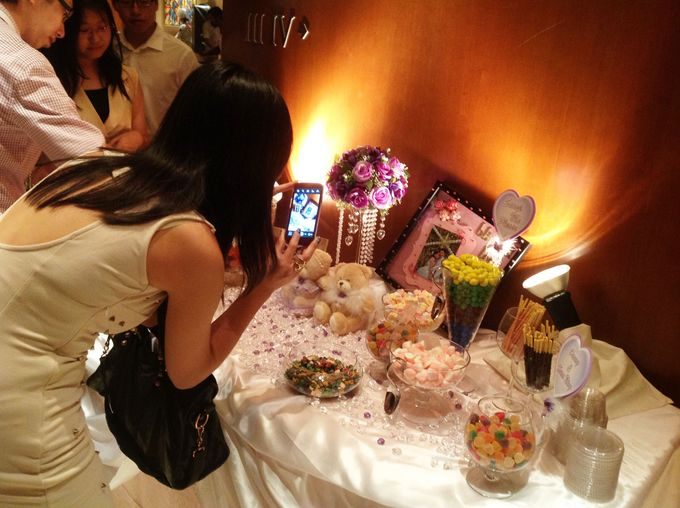 The Purple Dream Wedding by Candy Buffet Singapore - 008