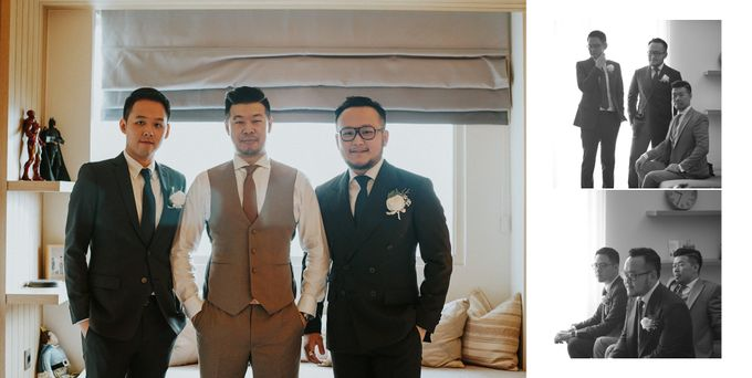 The Wedding of Carin and Stephen by Wong Hang Distinguished Tailor - 015