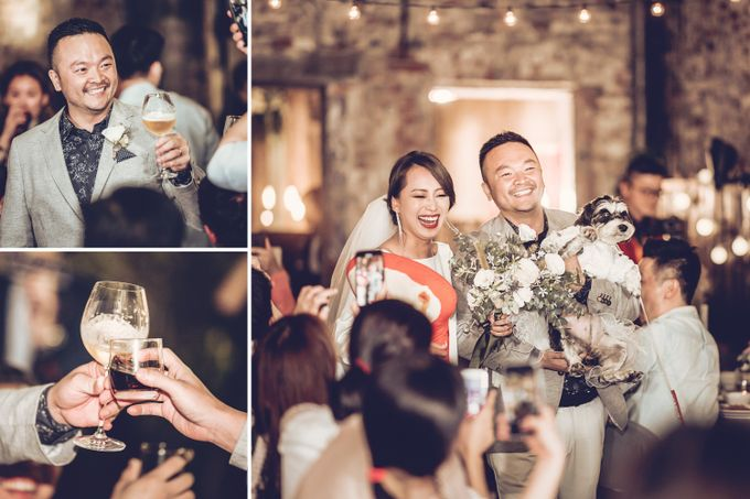 Pineo & Rachel Outdoor Casual Wedding Party at Ubud Bali by GoFotoVideo - 008