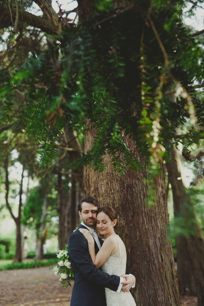 A country woodlands inspired wedding at Gabbinbar Homestead in Toowoomba by Deb Boots wedding photography - 017